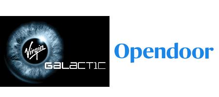 Opendoor & Virgin Galactic SPAC